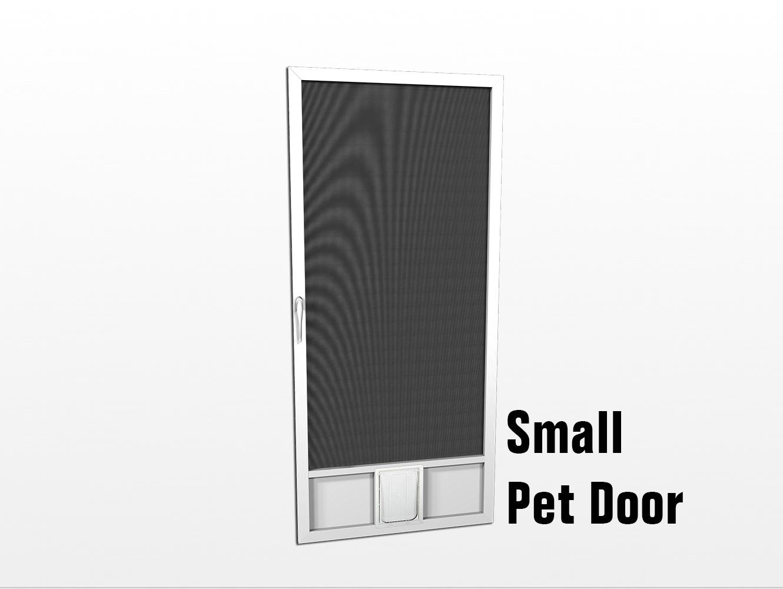 Pet Doors Screen Door with Pet Door Dog Screen Doors ...