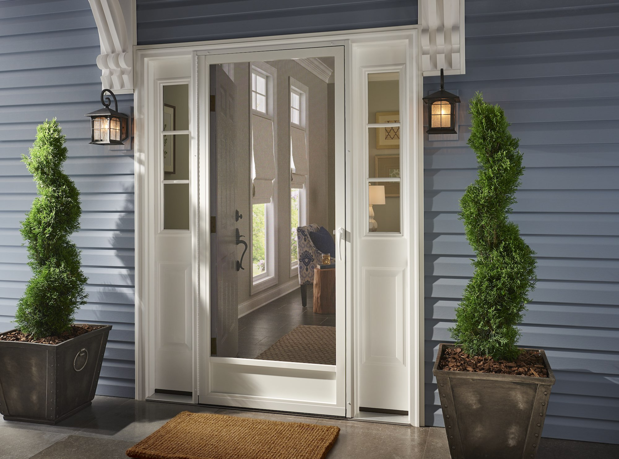 Entry Screen Doors Gallery & Aluminum Screen Doors - Best Screen Doors - Frontu2026 | PCA Products