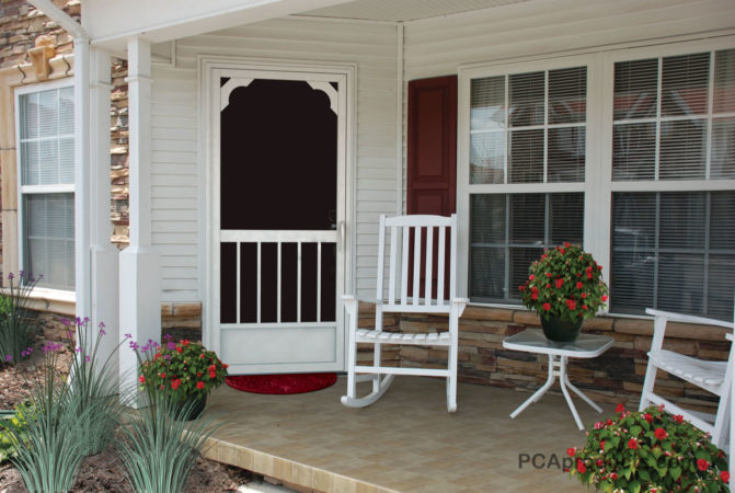 home screened on com canada porch in screen depot doors patio deck sliding door alluringlyshort