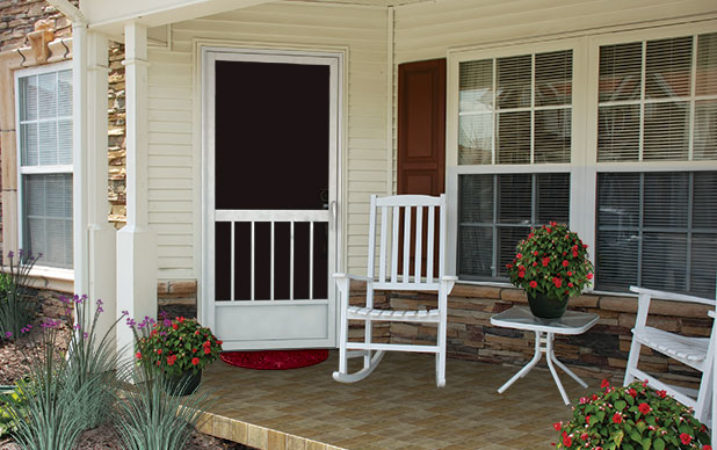 Entry Screen Doors - Decorative Entry Screen Door Design Ideas