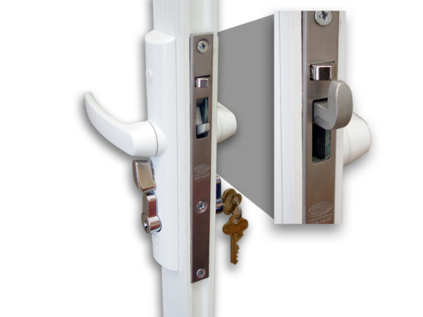 Security options for custom screen enclosures