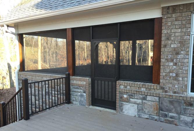 Porch & Patio Screen Door Solutions