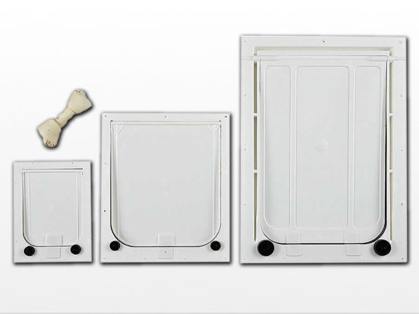 PCA Installs your pet door into the door you select