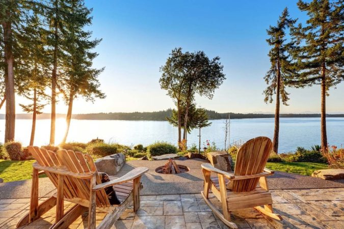 Outdoor living – even more attractive with decorative porch and patio screen doors