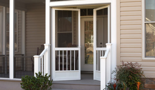 French Screen Doors Gallery & Aluminum Screen Doors - Best Screen Doors - Front\u2026 | PCA Products