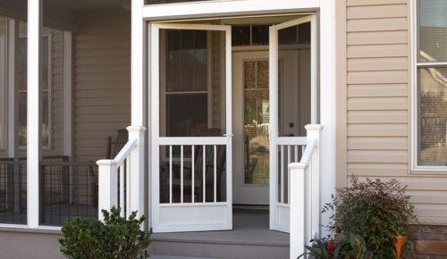 French Screen Doors Gallery & Aluminum Screen Doors - Best Screen Doors - Front\u2026 | PCA Products