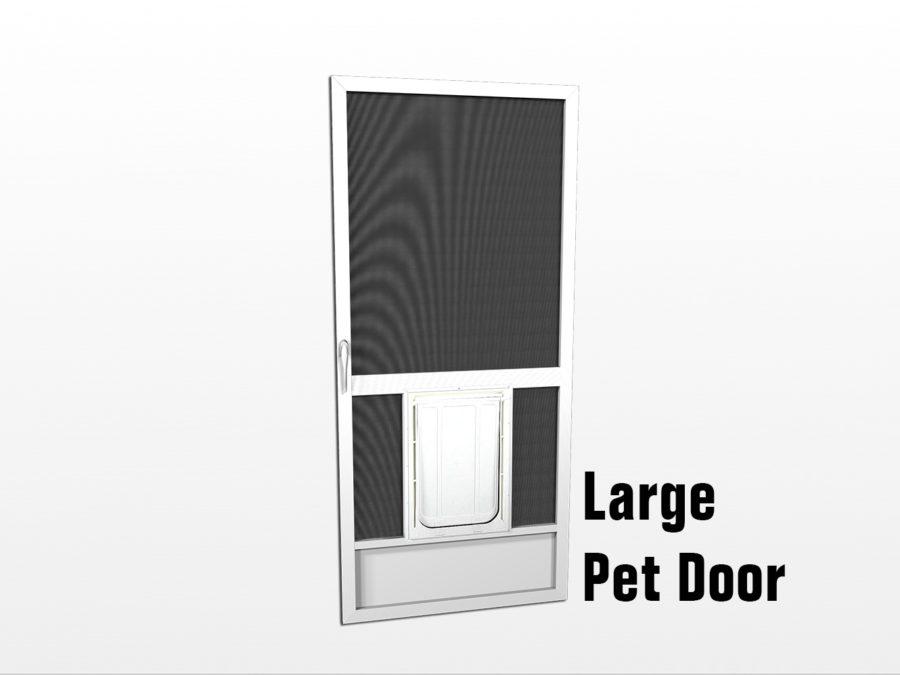 Pet Doors Screen Door With Pet Door Dog Screen Doors
