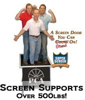 heavy duty screen doors best Boone IA,
