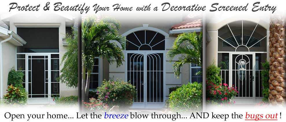 custom screen doors tampa