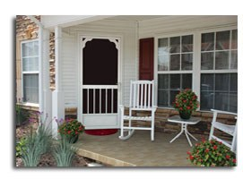 front screen doors designs ideas  Radford Va