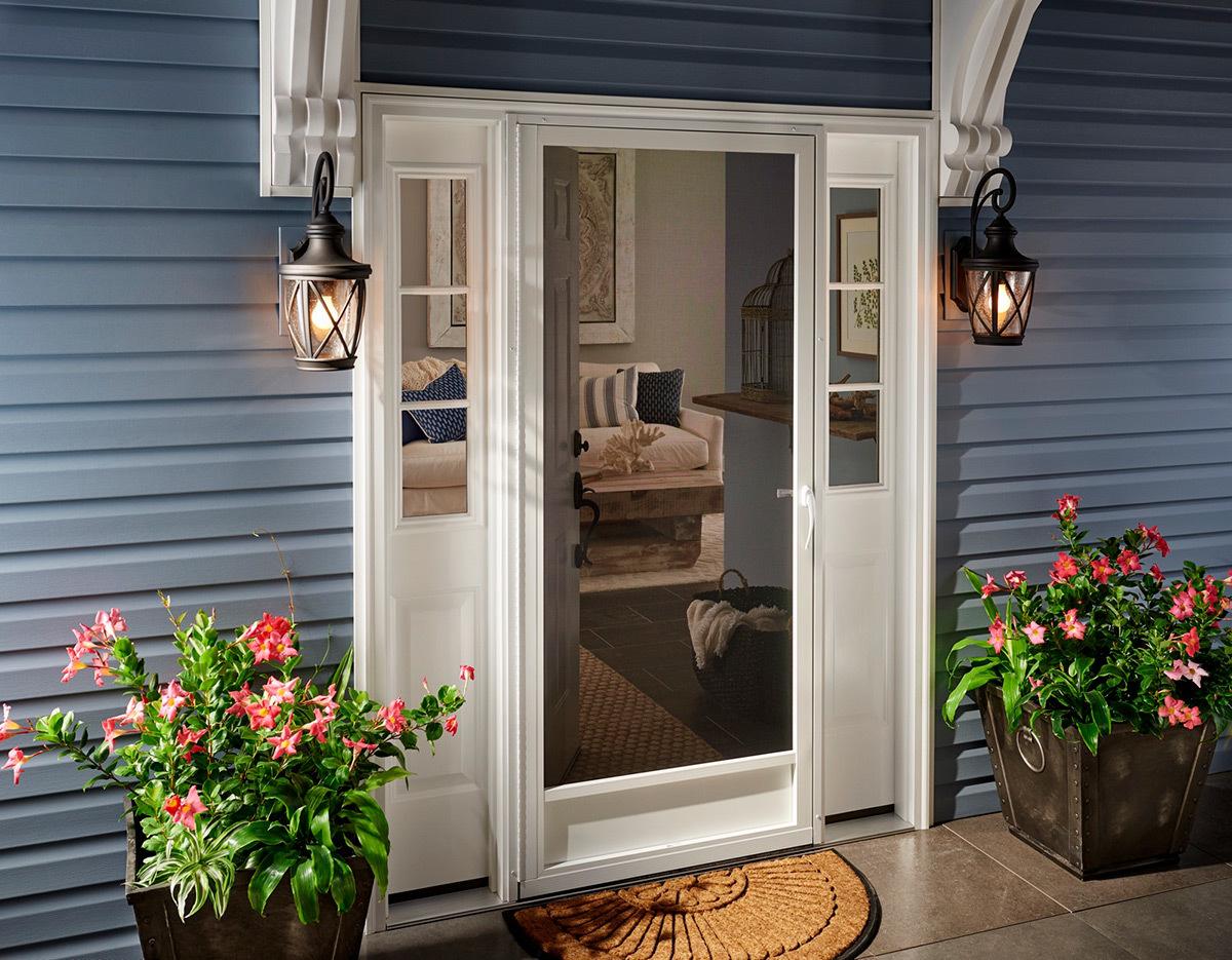 Entry Screen Doors Aluminum Screen Doors Custom Pca Products
