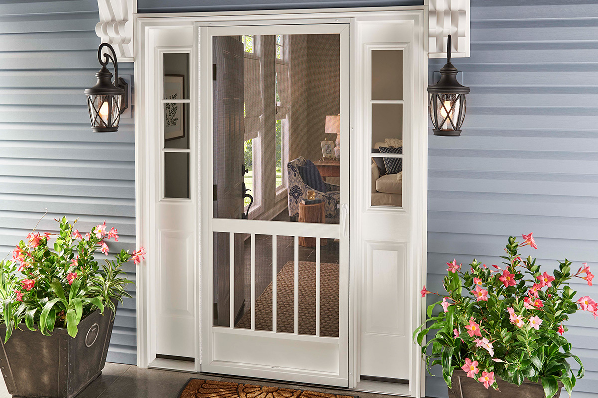 Entry Screen Doors Aluminum Screen Doors Custom Pca Products