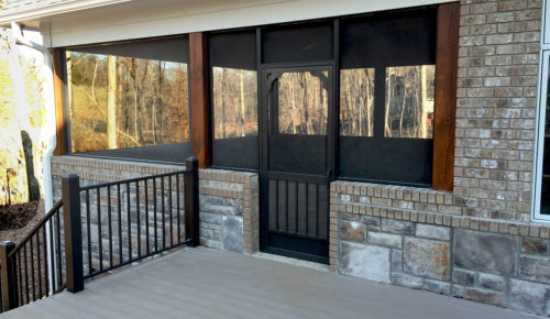 karenefoley glass ideas custom screened in doors and for windows porch