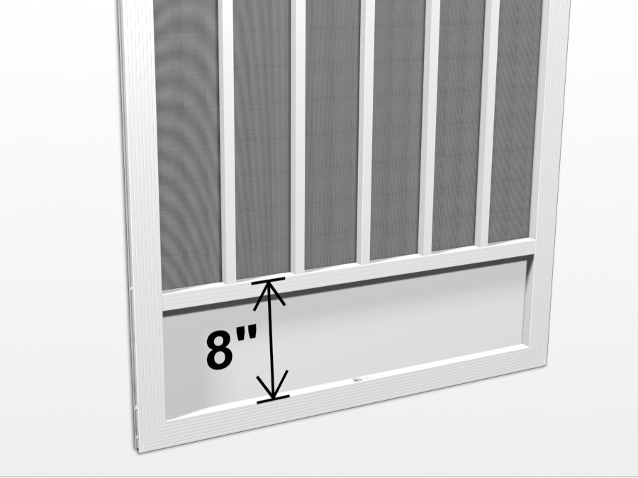 Kick Plates Aluminum Screen Doors