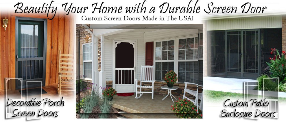screen doors Sevierville TN smoky mountains storm doors