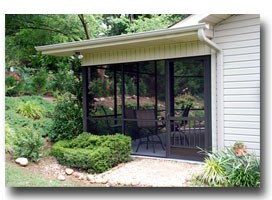 screen porch screen doors Lincoln IL,