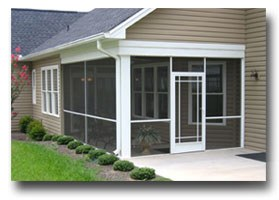 screened patio screen doors Dayton OH